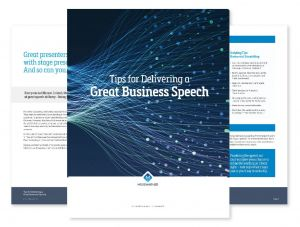 Tips For Delivering a Great Speech